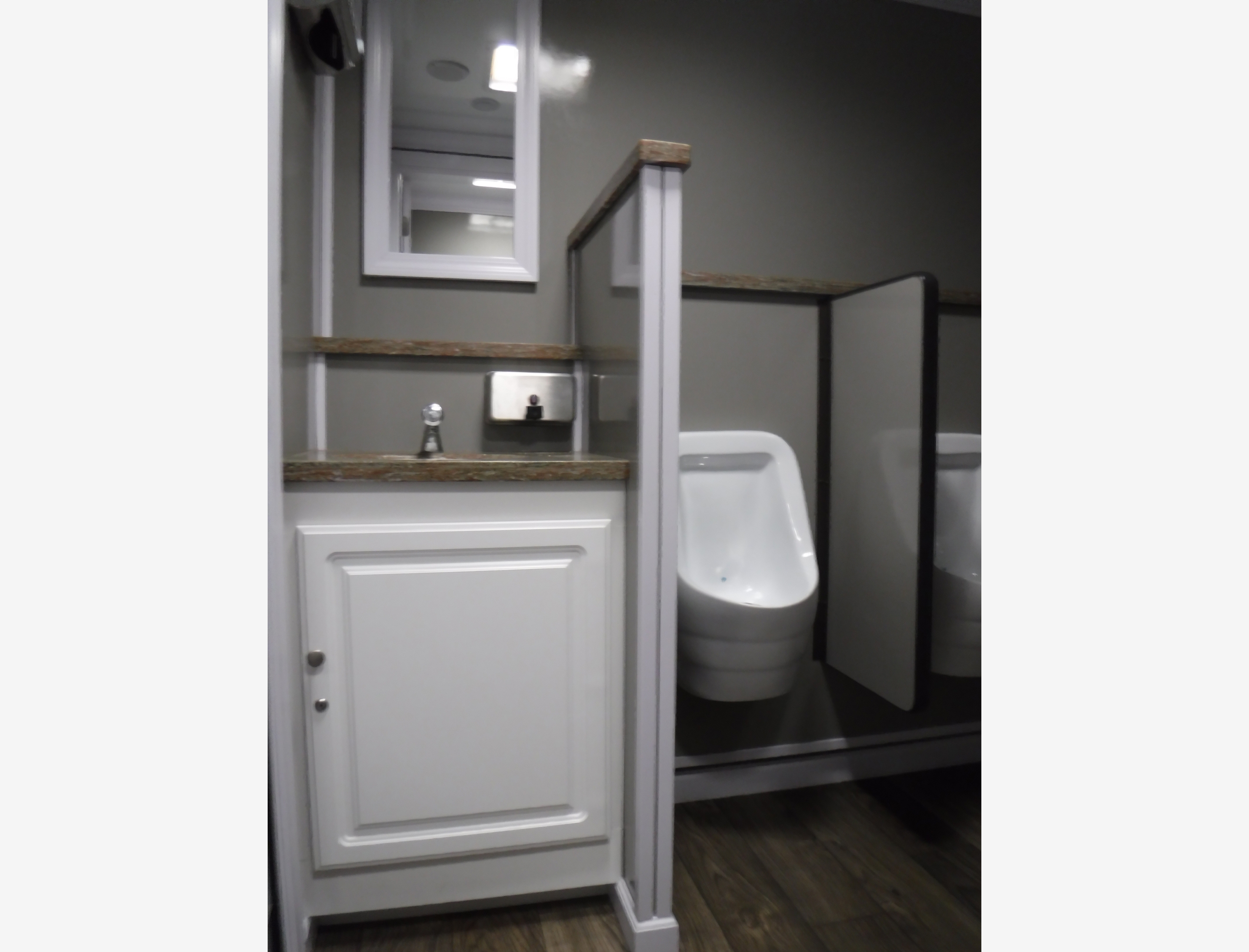 within station required psi vip toilets access the for with restroom a kennedy location of portable fitting is garden bathroom trailers to trailer standard hose commercial water opt service unit spigot