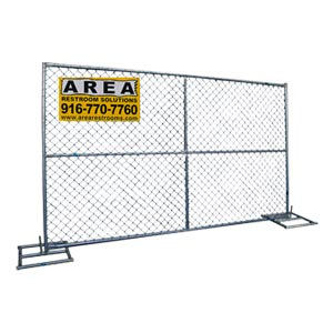 Temporary Fencing 183 Area Portable Services