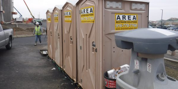 Towable Restroom with Sinks