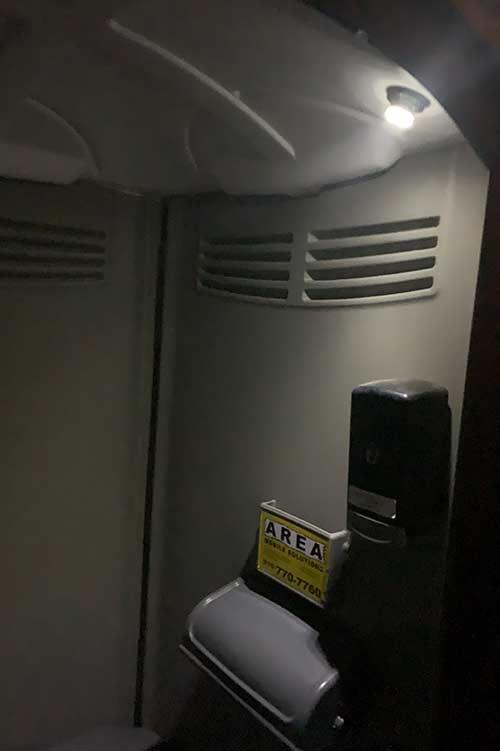 ADA Compliant Restroom Light