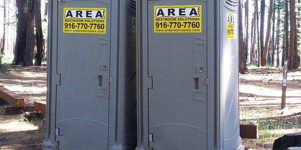 Double Towable Restrooms