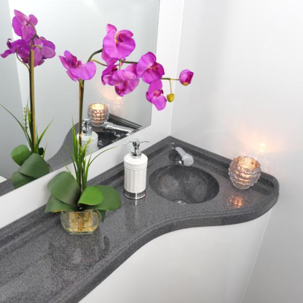 Luxury Interior Restroom Trailer By Area Portable Service
