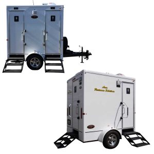 2-Station Luxury Restroom Trailers