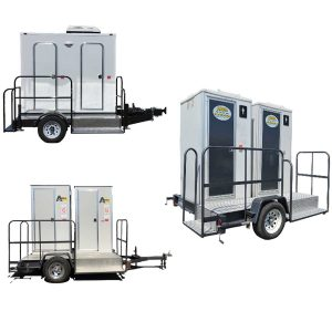 2-Station VIP Restroom Trailers