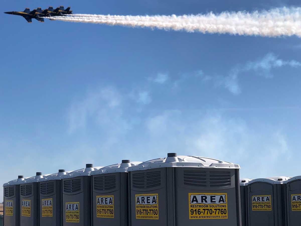 Airshow in Rancho Cordova, CA