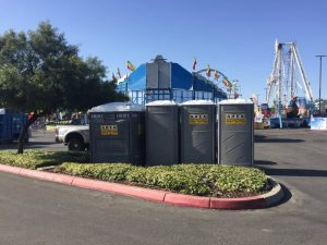 Restroom at Midway of Fun Event