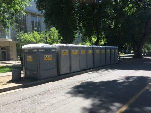 Portable Restrooms at UC Davis Event