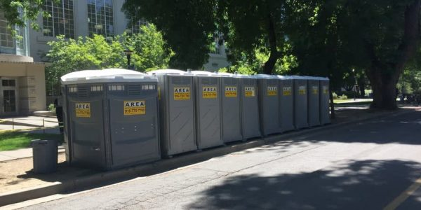 Portable Restrooms at UC Davis Event
